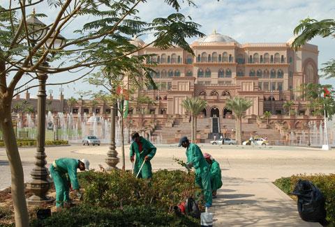 Emirates Palace Hotel @ Abu Dhabi, UAE