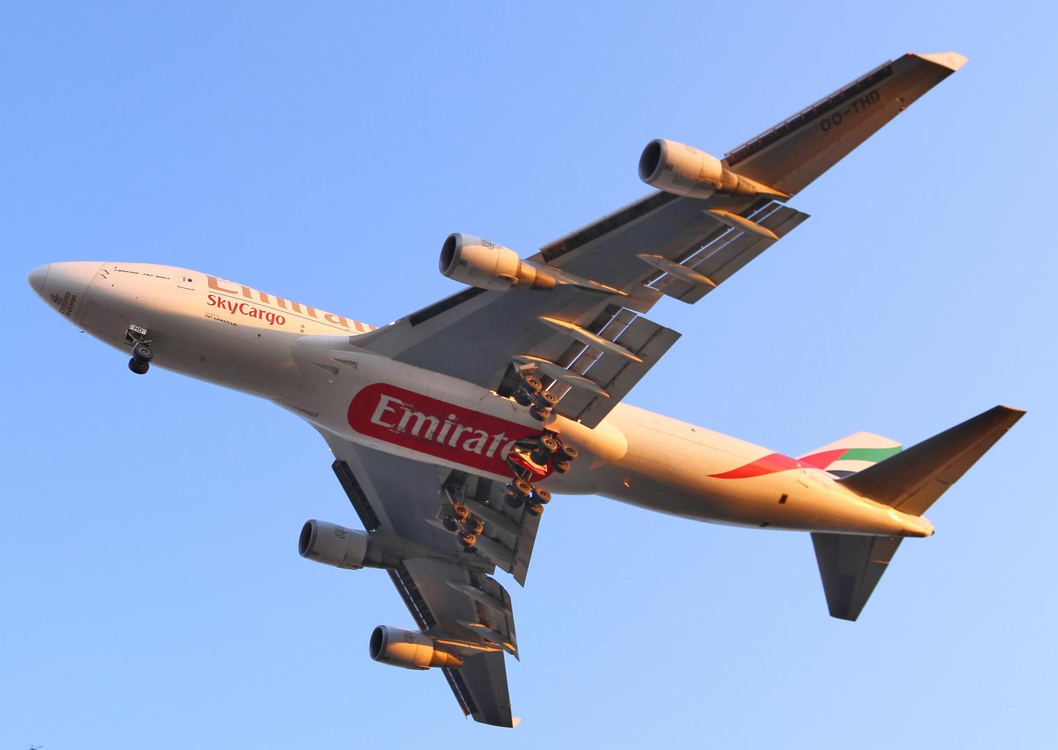 Emirates Sky Cargo 747-400 F