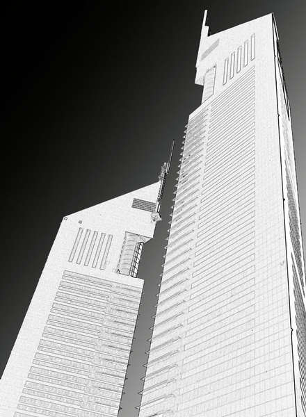 Emirates Towers (Dubai 2001)