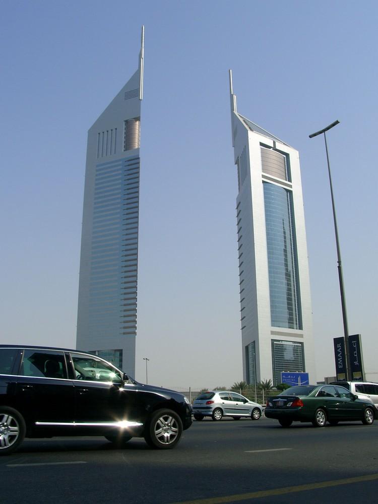 Emirates Towers in Dubai