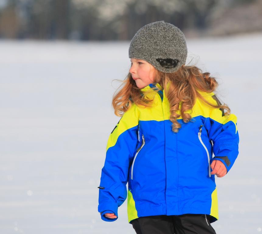 Emma im Schnee 2