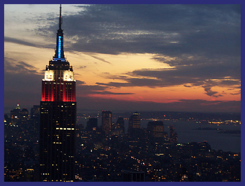Empire State Building Beleuchtung