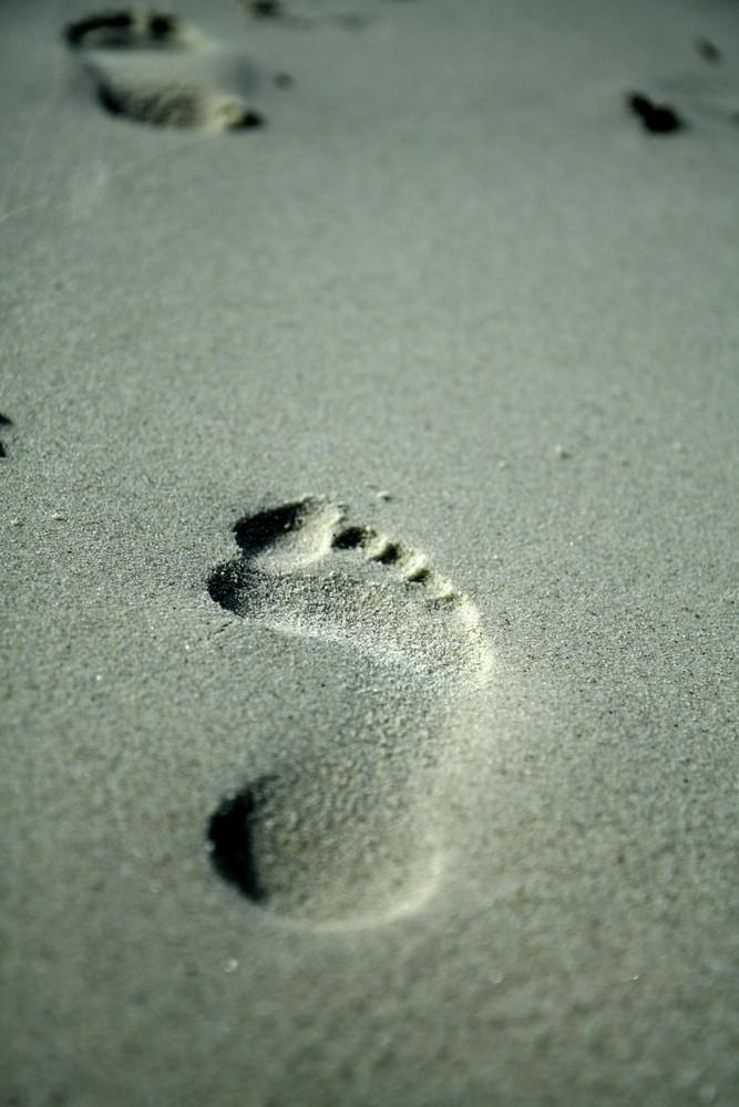 Empreinte de pied