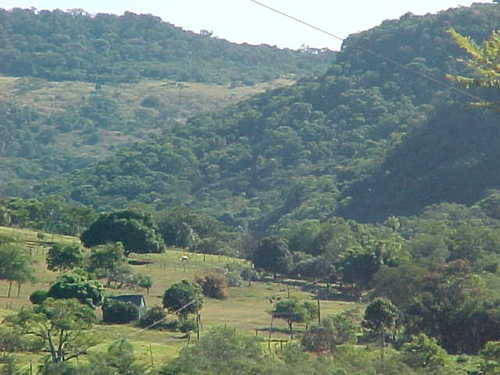 En al cima del cerro Akati, Yvytyrusu - Villarrica - Paraguay