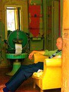en attendant le prochain client ! (Portugal - juin 2010)