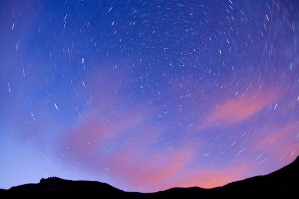 En attendant les étoiles filantes......