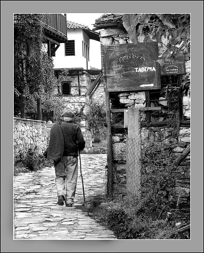 En camino del taverna