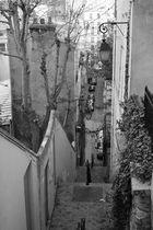 en descendant de Montmartre