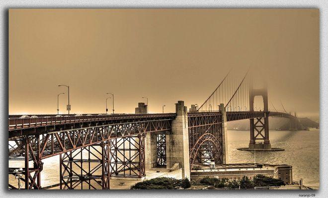 EN EL LEJANO OESTE  EL GOLDEN GATE -SAN FRANCISCO USA (Dedicada a Manolo Torres)