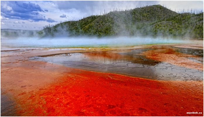 EN EL LEJANO OESTE-WEST THUM-7-PN YELLOWSTONE-USA