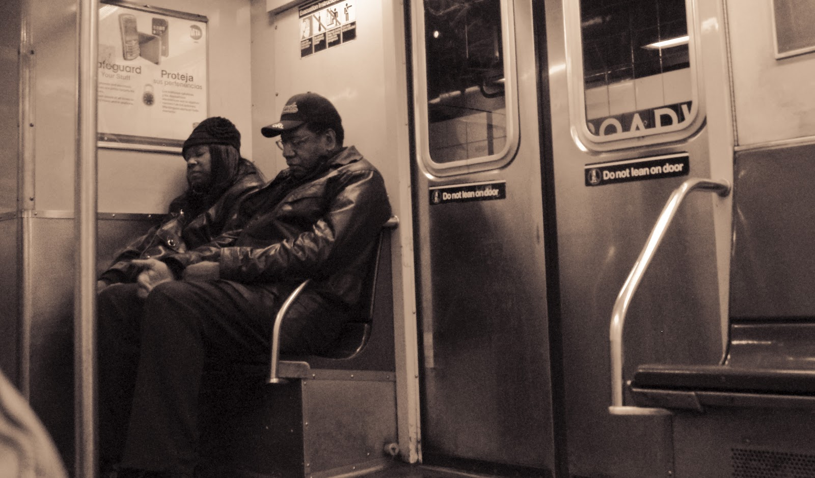 En el metro de New York