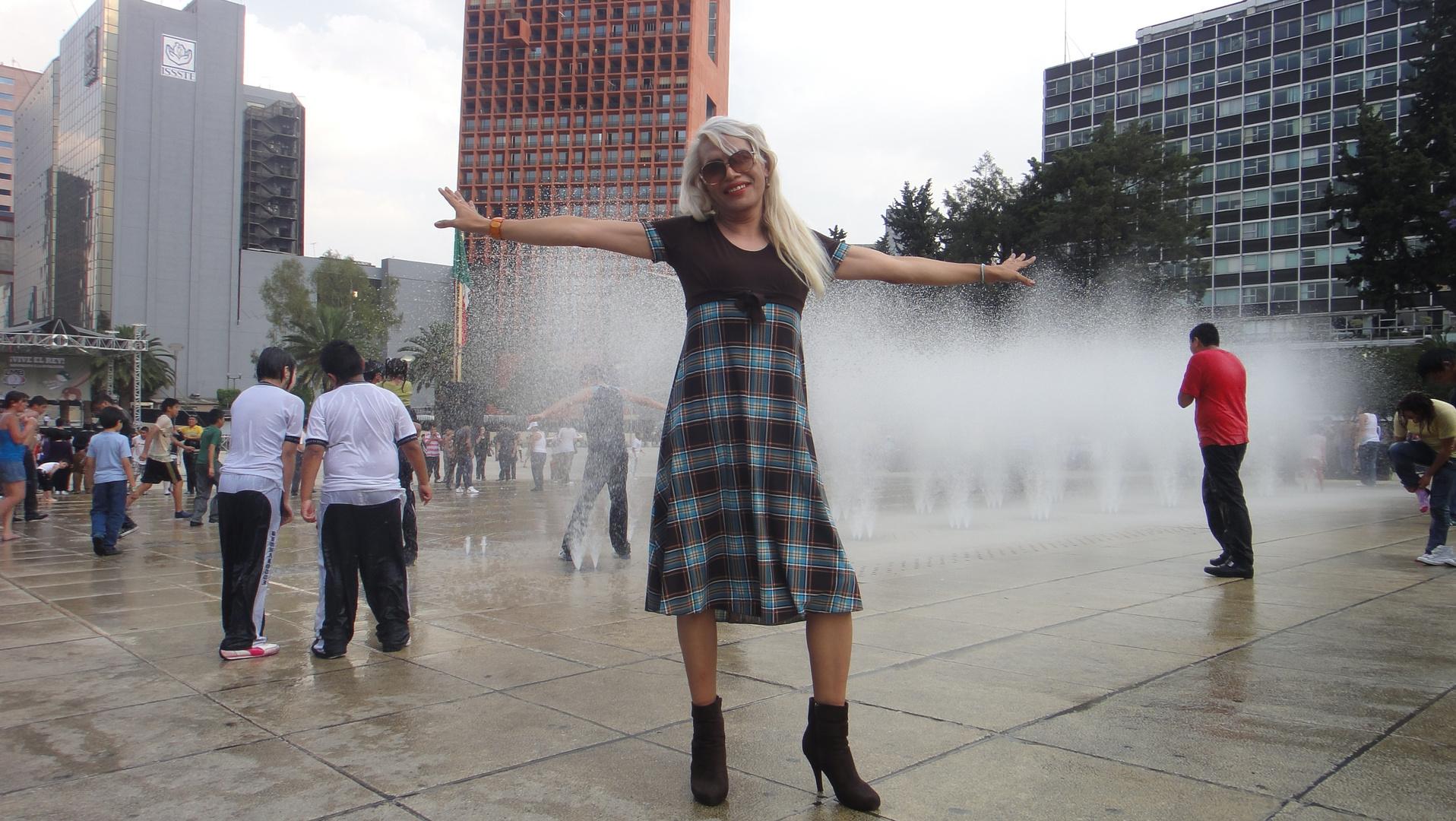 """""""En el Monumento a la Revolución"""""""