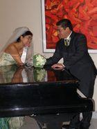 En el piano