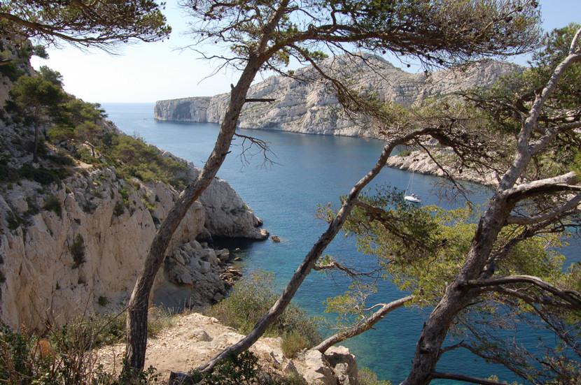 En face le Cap Morgiou