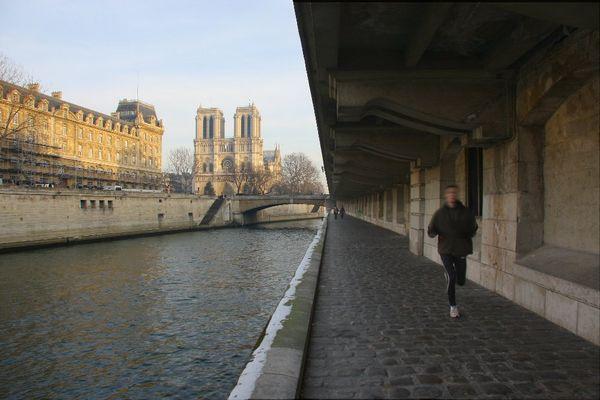 En forme avant la Notre Dame