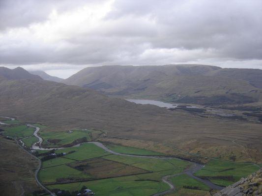en haut d'une montagne irlandaise un souvenir memorable