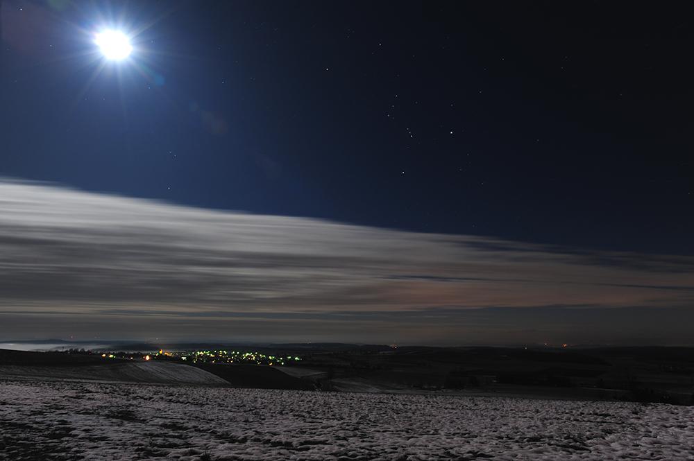 En hiver à minuit...