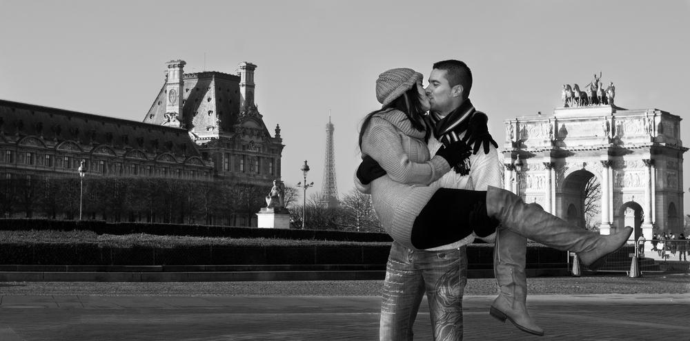En la ciudad del amor!!