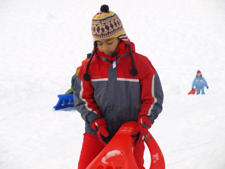 En la nieve 1