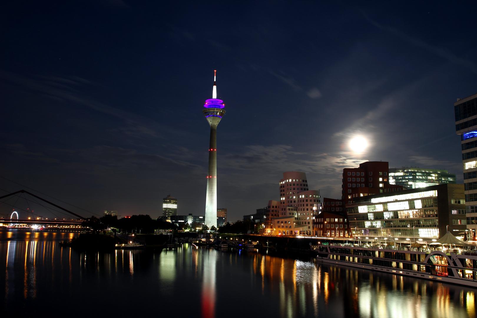 en la Noche de Düsseldorf