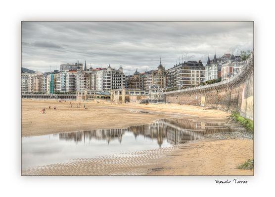 En la Playa de la Concha (para Peter Kahle)