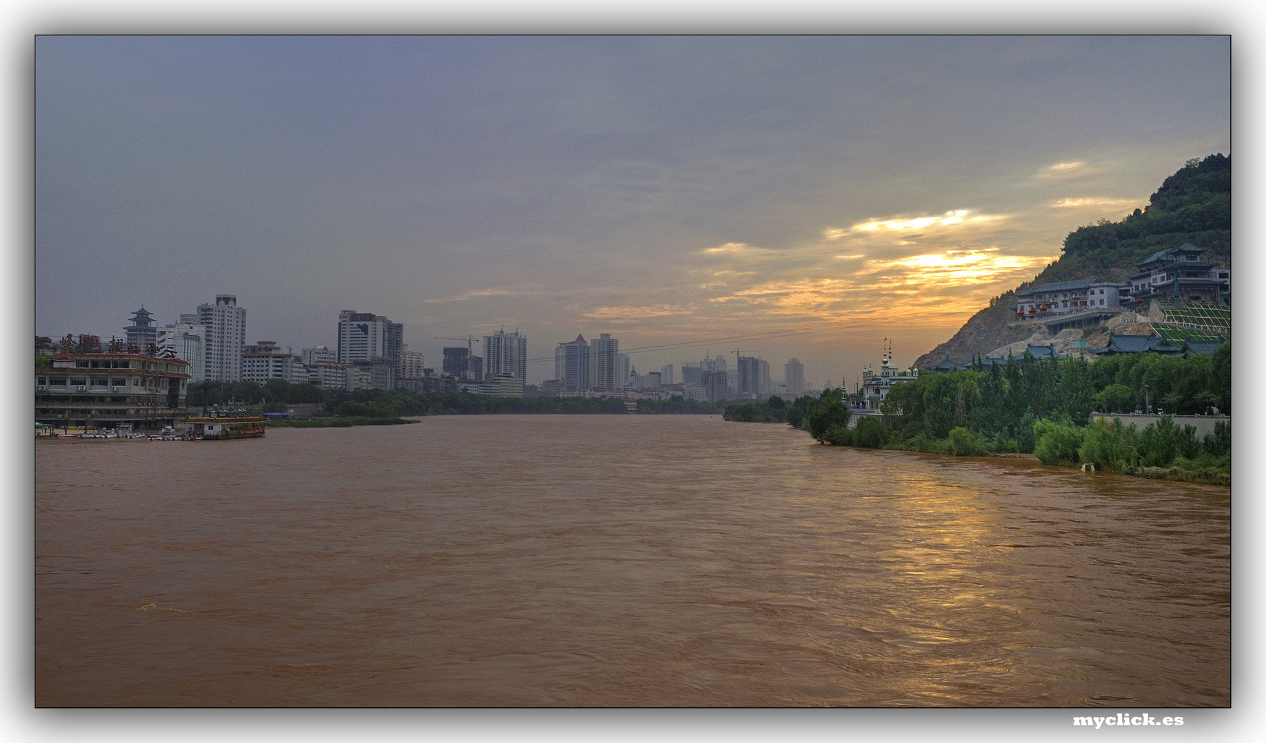 EN LA RUTA DE LA SEDA-EL RIO AMARILLO-LANZOU-CHINA