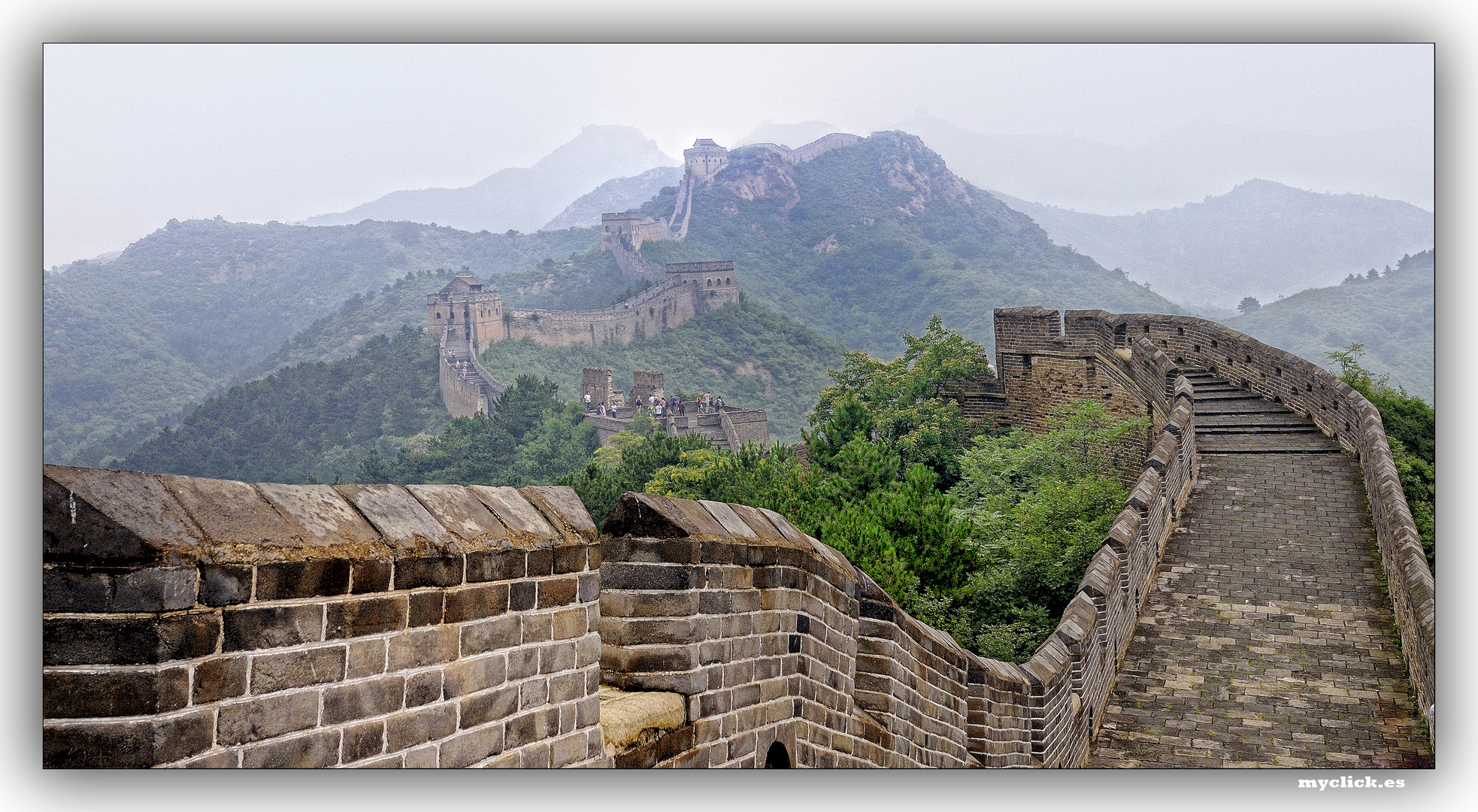 EN LA RUTA DE LA SEDA -LA GRAN MURALLA-3 PEKIN CHINA