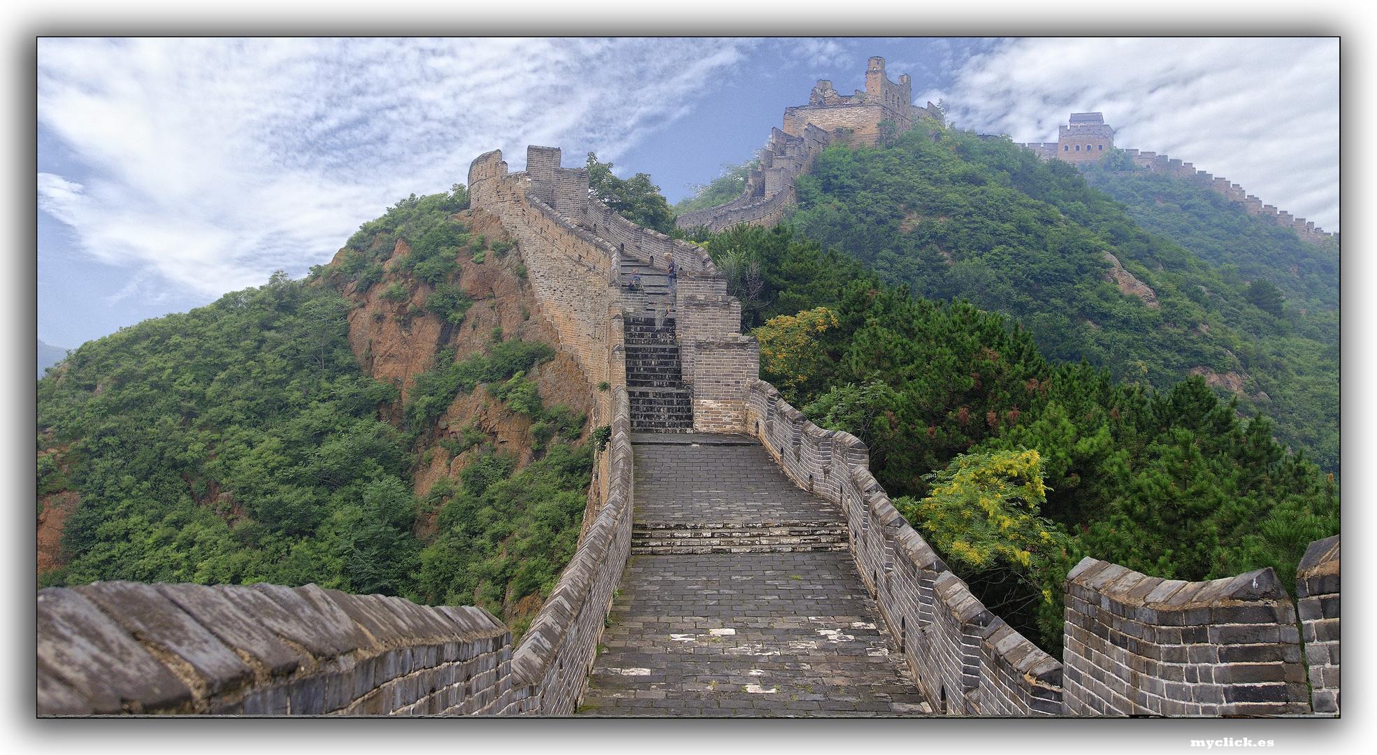 EN LA RUTA DE LA SEDA -LA GRAN MURALLA-4 PEKIN -CHINA