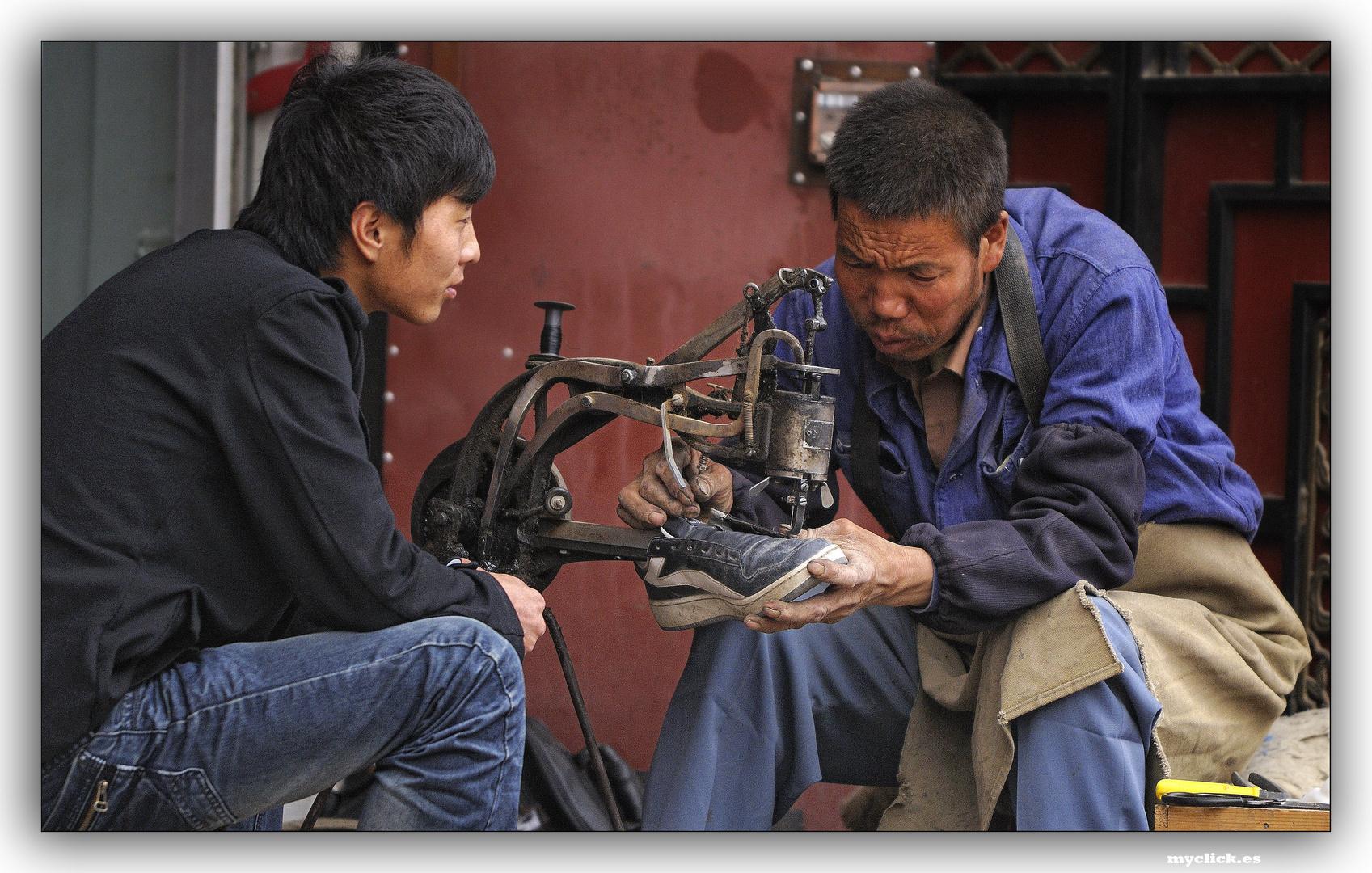 EN LA RUTA DE LA SEDA -LOS OFICIOS-2 -XIAHE-CHINA