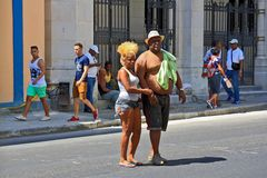 En las calles de Cuba