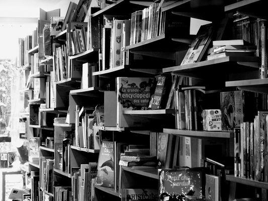 En librairie.