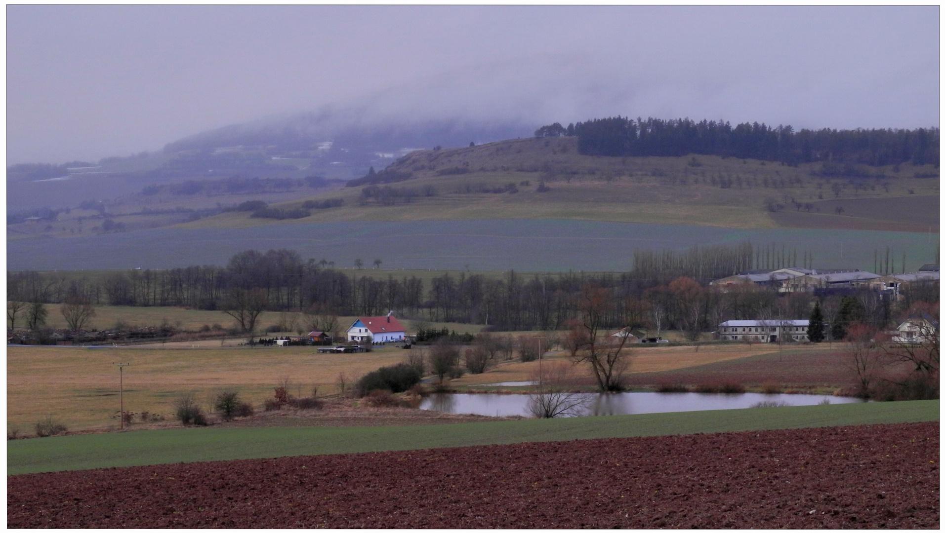 En los alrededores de mi pueblo (in der näheren Umgebung von meinem Dorf)
