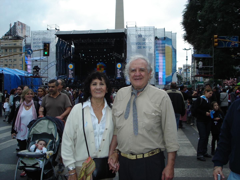 en los festejos por el bicentenario de la revolución de mayo