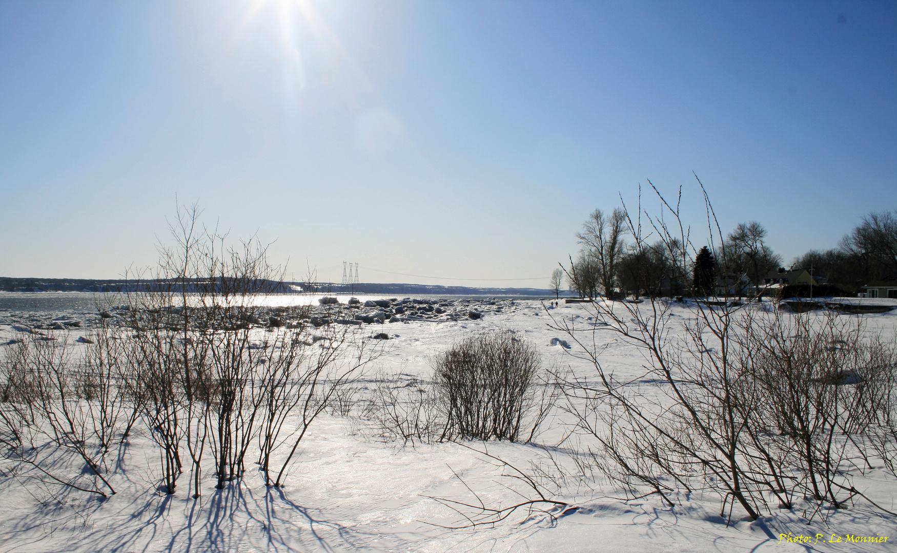 En mars, c'est l'hiver...
