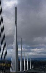 en passant sur le pont de Millau