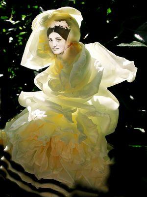 """En """"rose de mariée""""...."""