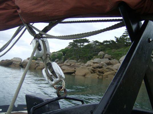 En route pour l' archipel des 7 iles