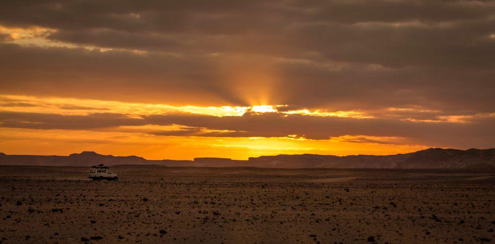 En route pour le désert blanc