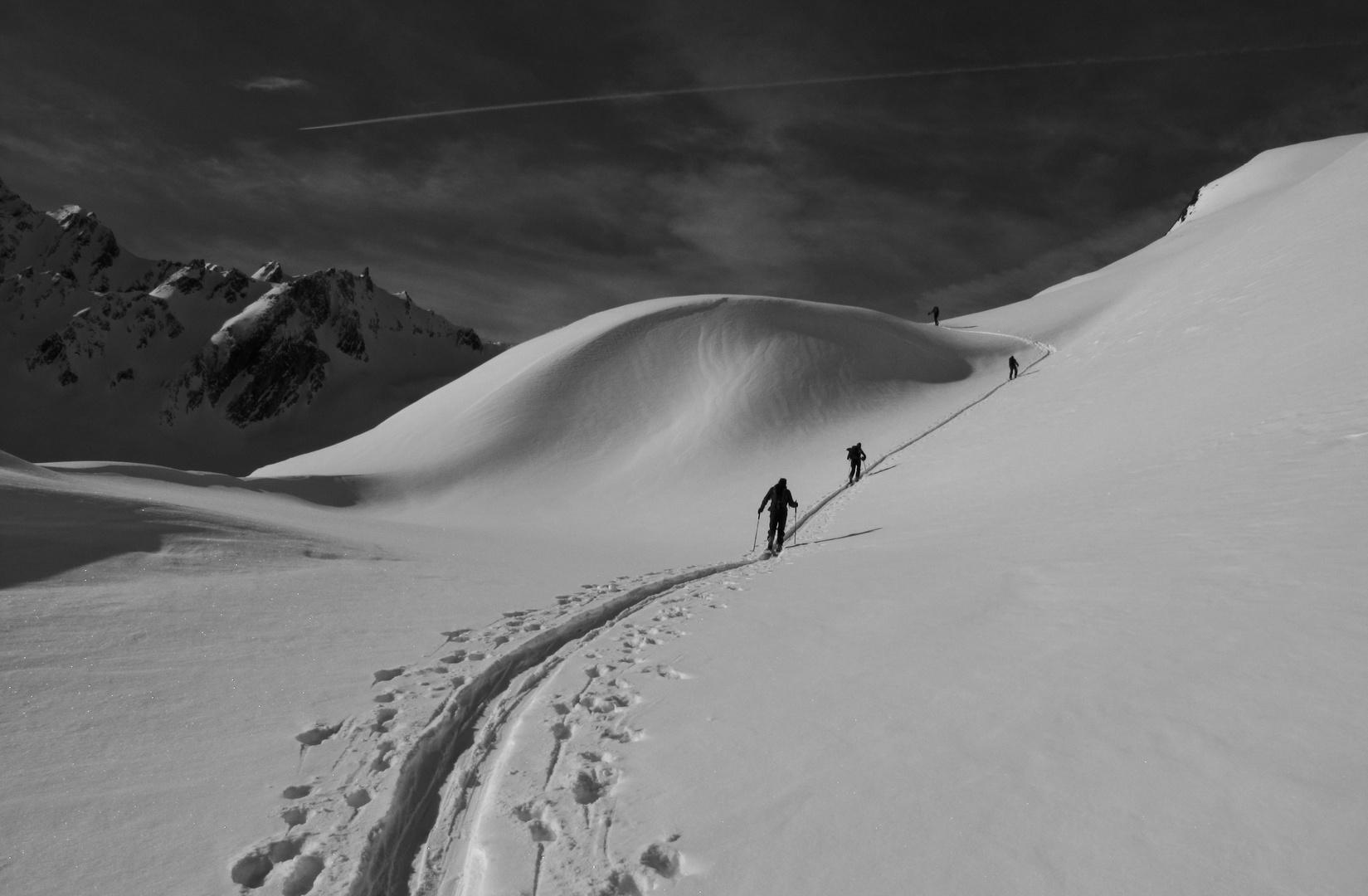 en route pour les sommets