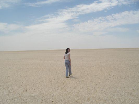 En route pour l'océan de sable