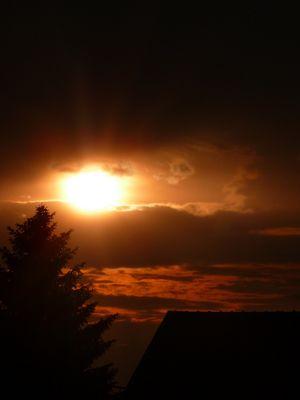 En route vers le soleil couchant..