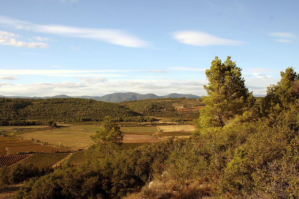 En route vers Roquebrun ( Hérault )