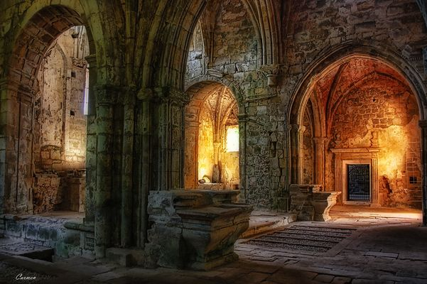 En ruinas....