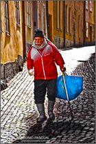 En todas partes, también en las calles de Estocolmo, en agosto 2012