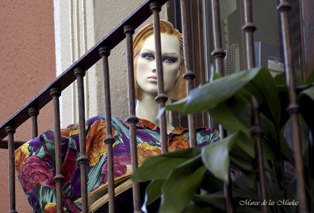 ...en un balcón de Toledo...