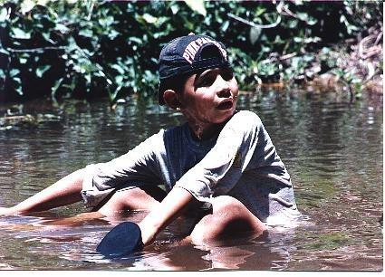 En un rio de Bejuma