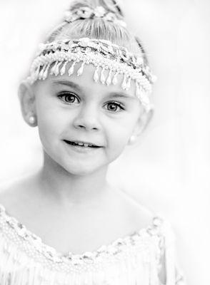 Encantadora niña