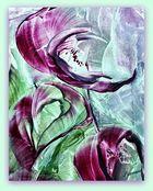 Encaustic - Blüte