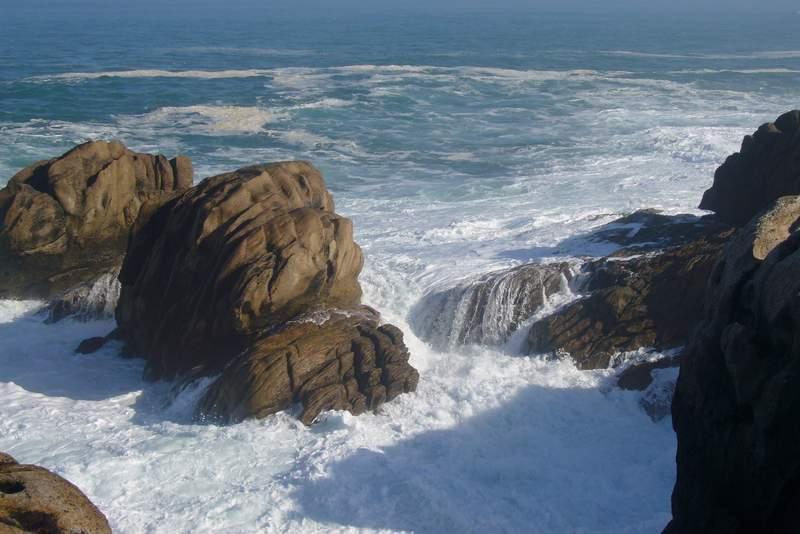 encore les rochers de guénolé...