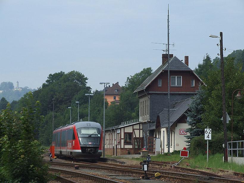 Endbahnhof im Grünen